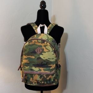 Twig and Arrow camoflauge print backpack